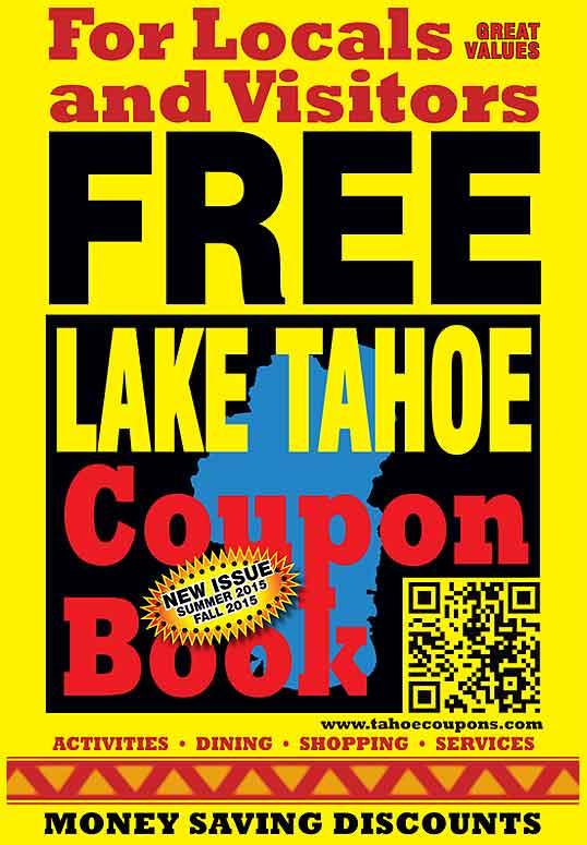 FREE Lake Tahoe Coupon Book